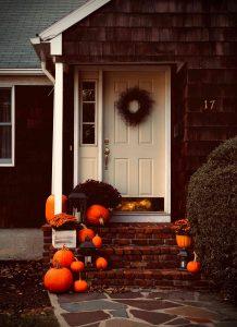 front porch hardscape